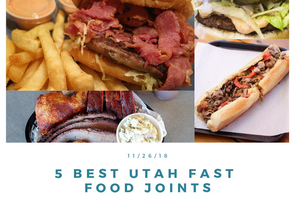 Utah's 5 Best Fast Food Joints