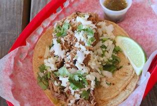 Green Chile Pork Taco - Torchy's Tacos - Hungry Doug