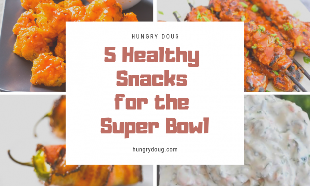 5 Healthy Snacks for the Super Bowl