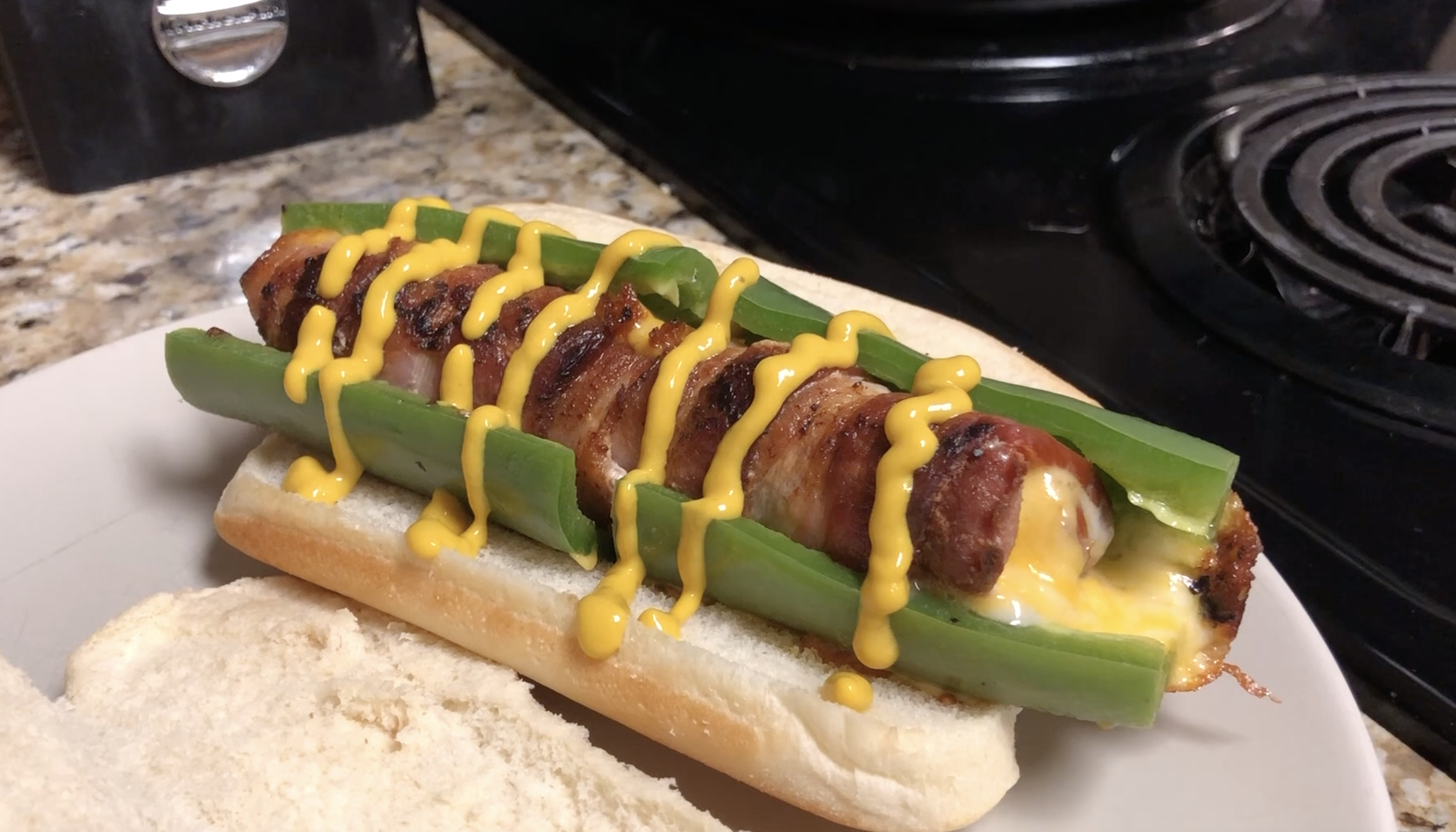 Bacon Jalapeño Cheese Dog