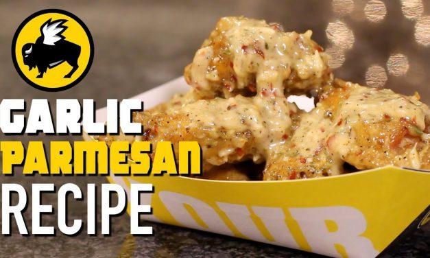 Gettin' Saucy: Parmesan Garlic Sauce from Buffalo Wild Wings