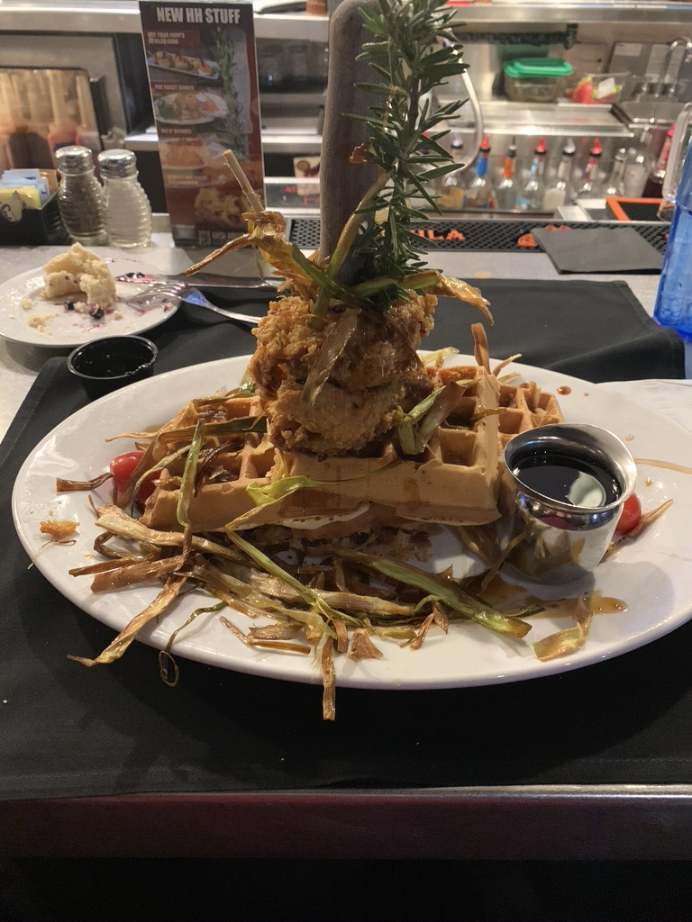 Hash House Chicken and Waffles