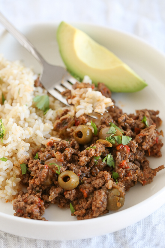 Hungry Doug- Cuban Picadillo