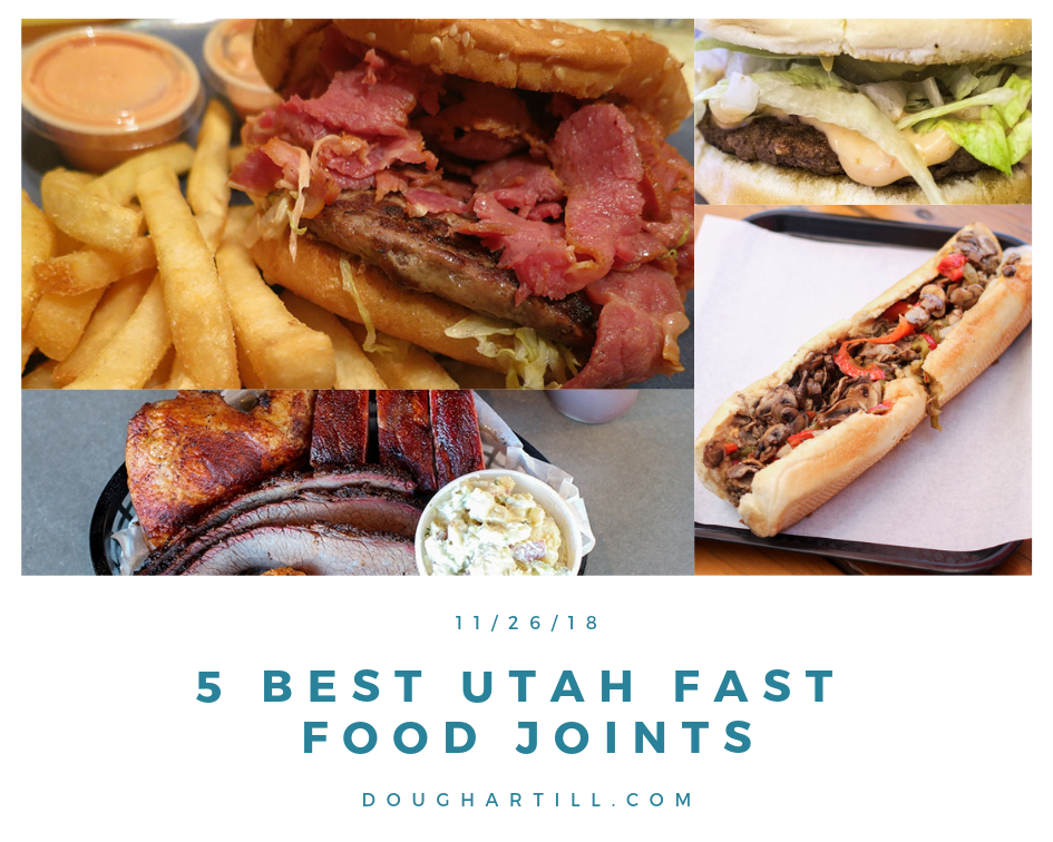 Utah's 5 Best Fast Food Joints
