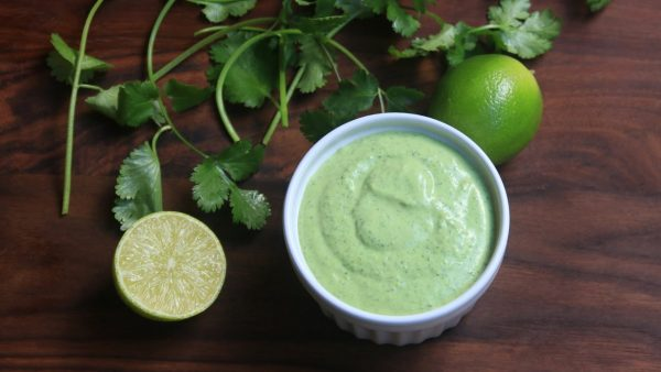 Lime Cilantro Aioli - Hungry Doug
