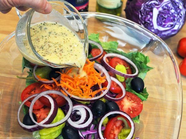 Olive Garden's Salad Dressing - Hungry Doug